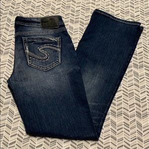 Silver Jeans   Aiko Midboot 29/31
